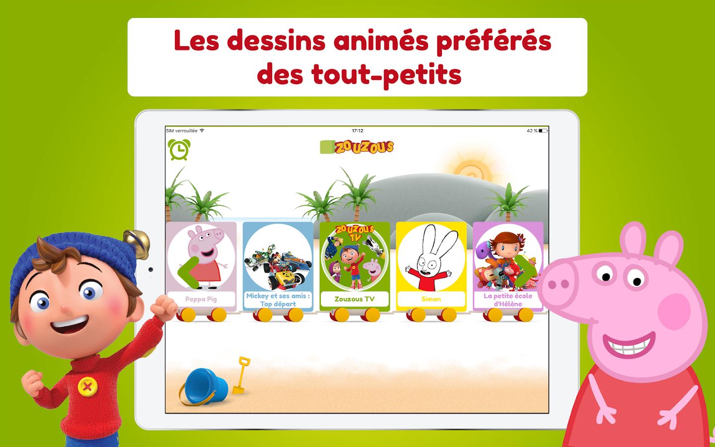 Top Zouzous - Dessins animés pour les tout-petits - Android Apps on  YK05