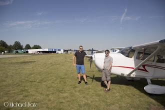 Photo: Captain Skifte og Captain Katz på Strausberg Flugplatz