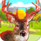 Low Poly Deer Hunter 2016
