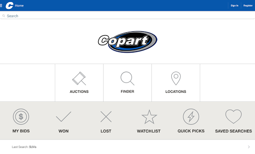 App Copart – Salvage Car Auctions APK for Windows Phone