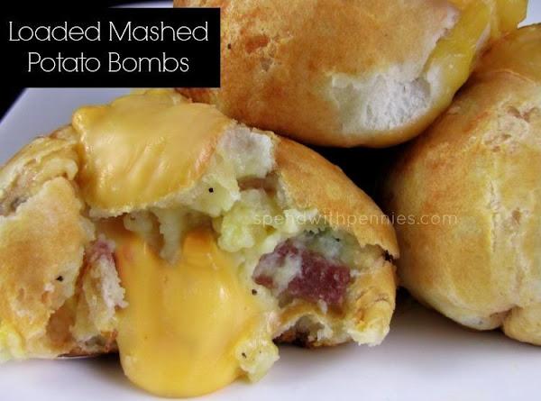 Loaded Mashed Potato Bombs Recipe