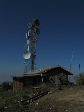 Photo: 1500m peak with Radio/TV towers