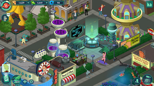 Futurama: Worlds of Tomorrow 1.6.6 screenshots 7
