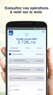AXA Banque France- screenshot thumbnail