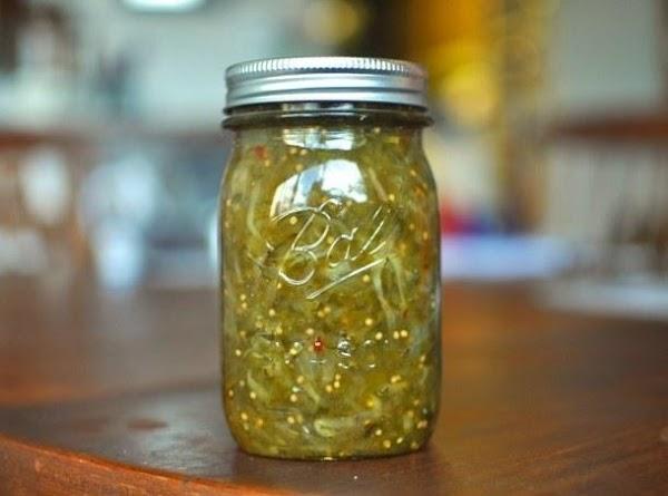 Green Tomato Ketchup(relish) Recipe