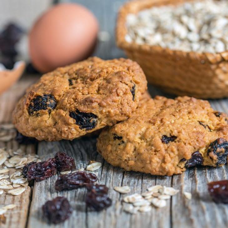 Awake Oatmeal Cookies