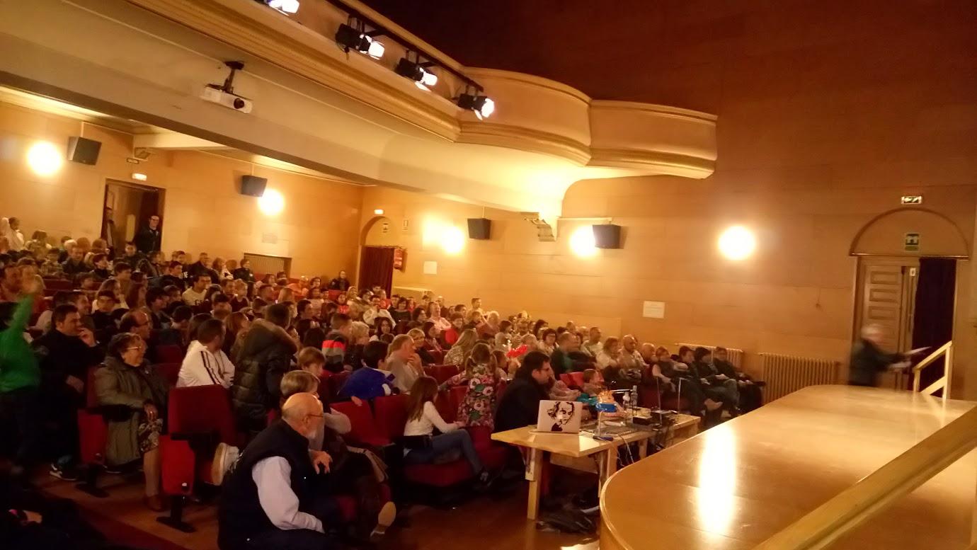 teatro municipal San Leonardo de Yagüe 2016