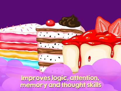 Game for kids - Cakes - náhled