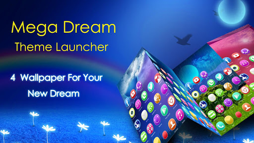 Dream Mega Launcher Theme