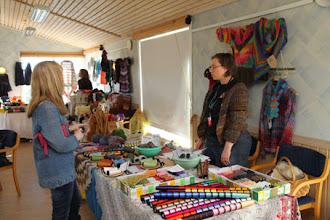 Photo: Ingrid's Corner var på plats även i år - med relexgarn och allt!