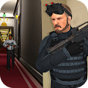 Secret service spy agent mad city rescue game icon