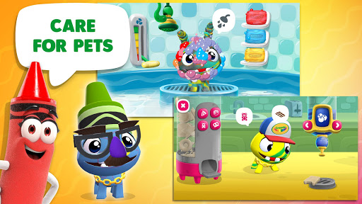Crayola Create & Play: Coloring & Learning Games android2mod screenshots 5