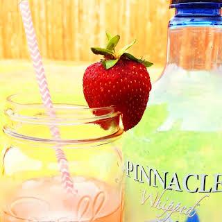Strawberry Tart Cocktail.