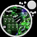 Green Skull Keyboard icon