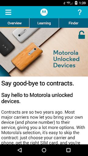 Moto Network Finder 6.0.0 screenshots 1