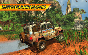 Off road 4X4 Jeep Racing Xtreme 3D screenshot for Android