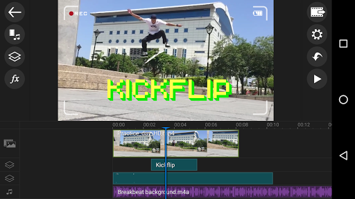 Apl editor vídeo PowerDirector screenshot 1