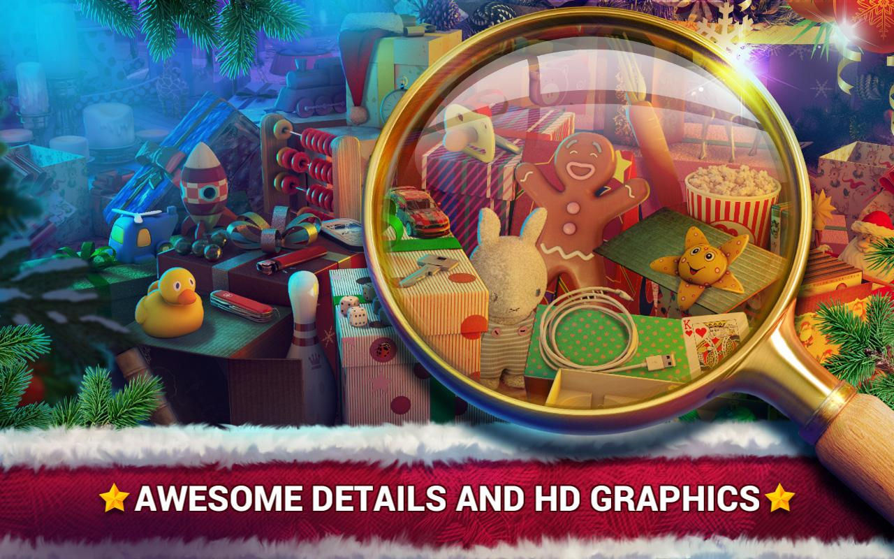 Hidden Objects Christmas Gifts – Winter Games- screenshot