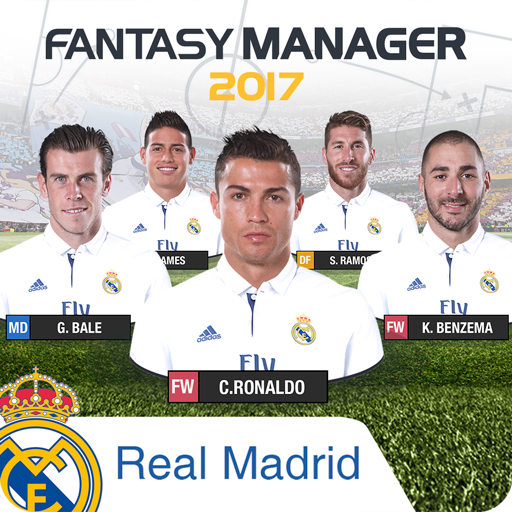 Real Madrid Fantasy Manager'17 體育競技 App LOGO-硬是要APP