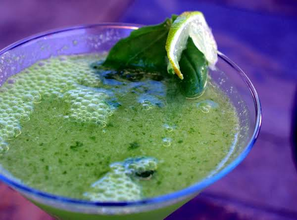 Rangoon (basil Gimlet) Recipe