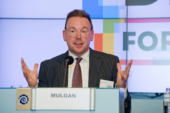Photo: Geoff Mulgan, chief executive of Nesta