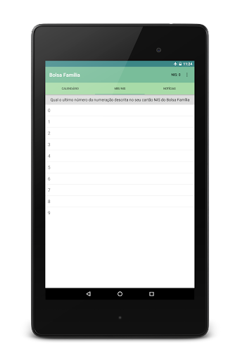 Bolsa Família 2016 app (apk) free download for Android/PC/Windows screenshot