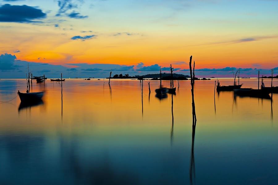 Belitong`s Sunset! by Gozs- Spectre - Landscapes Sunsets & Sunrises