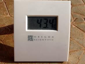 Photo: 17 heures, la journée n'est pas finie, il fait encore chaud, trop chaud !