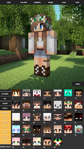 Custom Skin Creator For Minecraft 4.5 screenshots 8