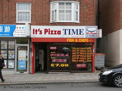 Its Pizza Time On Church Road Fast Food Takeaway In