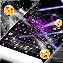 Purple Laser Keyboard icon