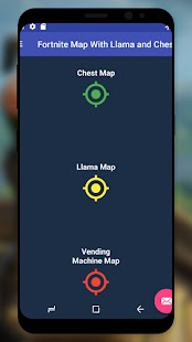 Fortnite Map With Llamas and Chests for pc