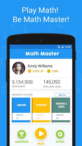 Download Math Master - Brain Quizzes & Math Puzzles 3.3 1