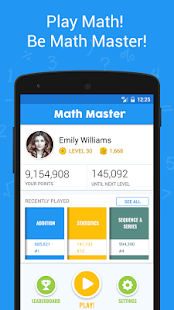 Math Master - Brain Quizzes & Math Puzzles - náhled