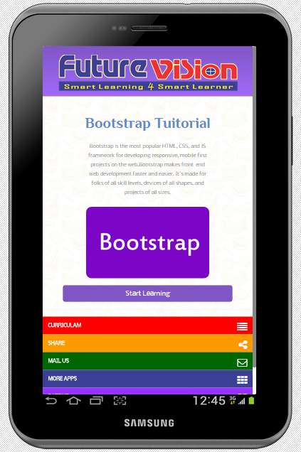 Offline Bootstrap with Editor- screenshot