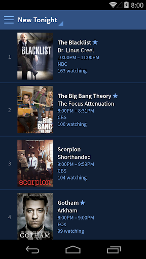 TV Guide screenshot 2