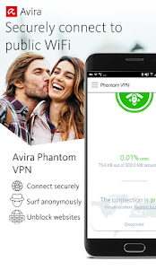 Free VPN - Avira Phantom VPN- screenshot thumbnail