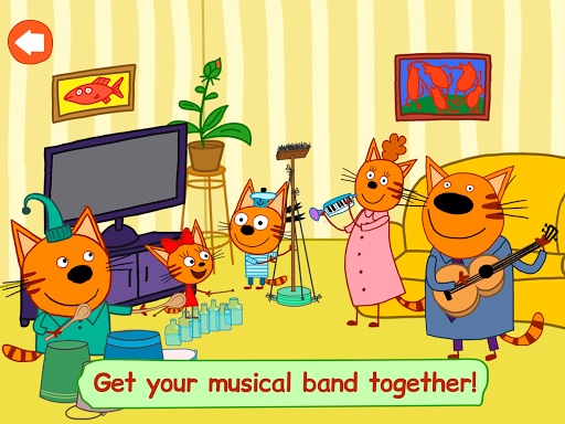 Kid-E-Cats: Adventures. A baby game apktram screenshots 19