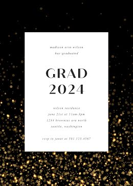 Madison's Graduation Party - Graduation Card item