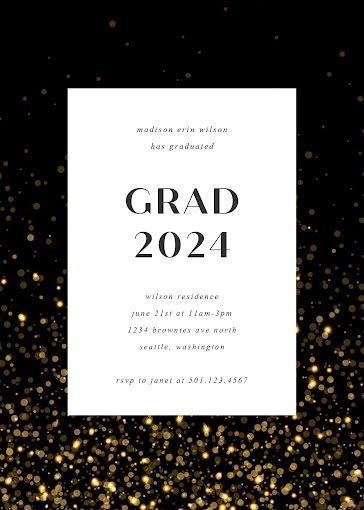 Madison's Graduation Party - Graduation Announcement Template