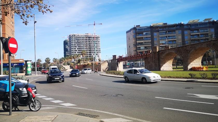 Glorieta de Las Almadrabillas de Almería.