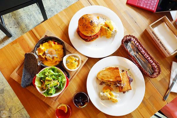 Just Diner 傑斯丹尼 食肉怪必訪美式漢堡/早午餐!從麵包到漢堡肉通通自己做,不怕你吃就怕你吃不飽!