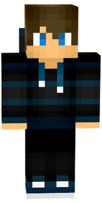 Quick revamp of a skin I saw on planetmc yesterday, removed the J and made the bottom part of the hoodie, thats pretty much it. All credits go to the original maker!
