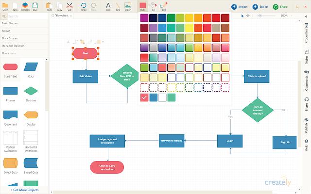 Creately Diagrams & Collaboration Chrome Web Store