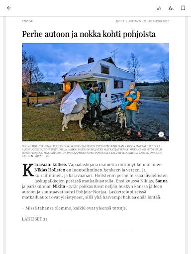 Turun Sanomat näköislehti screenshot 22