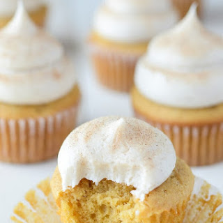 Pumpkin Maple Cupcakes with Cinnamon Cream Cheese Frosting Recipe