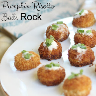Pumpkin Risotto Bites