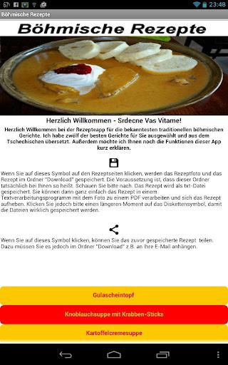 Böhmische Rezepte