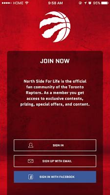 Raptors Mobile - screenshot