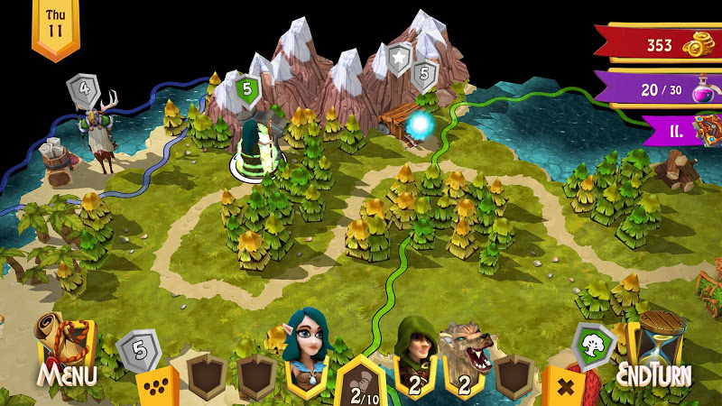 Heroes of Flatlandia Screenshot 0